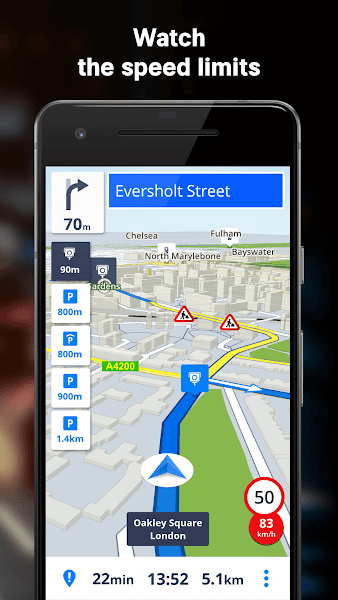 Sygic GPS Navigation & Maps Screenshot Image