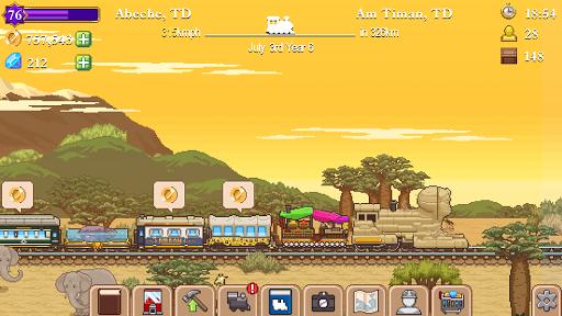 Code Triche Tiny Rails  APK MOD (Astuce) screenshots 5