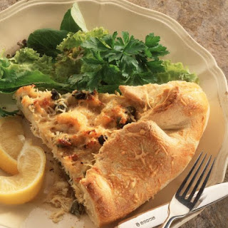 Crab and Caper Galette