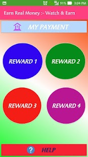 Earn Real Money :- Watch & Earn - náhled