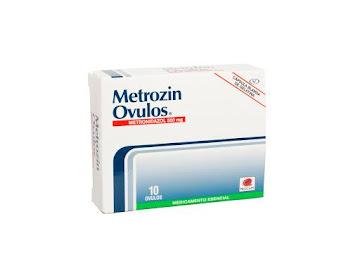 Metronidazol Metrozin Óvulos 500Mg. Óvulos Caja x10Ovu. Procaps
