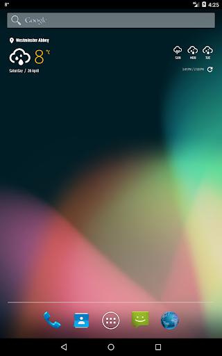 Simple weather & clock widget (no ads) screenshots 16