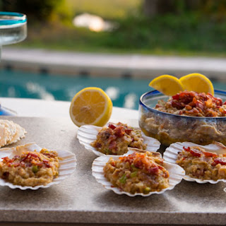 Clams Casino Dip with Bacon #SundaySupper.