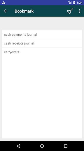 Screenshot 3 Accounting Dictionary
