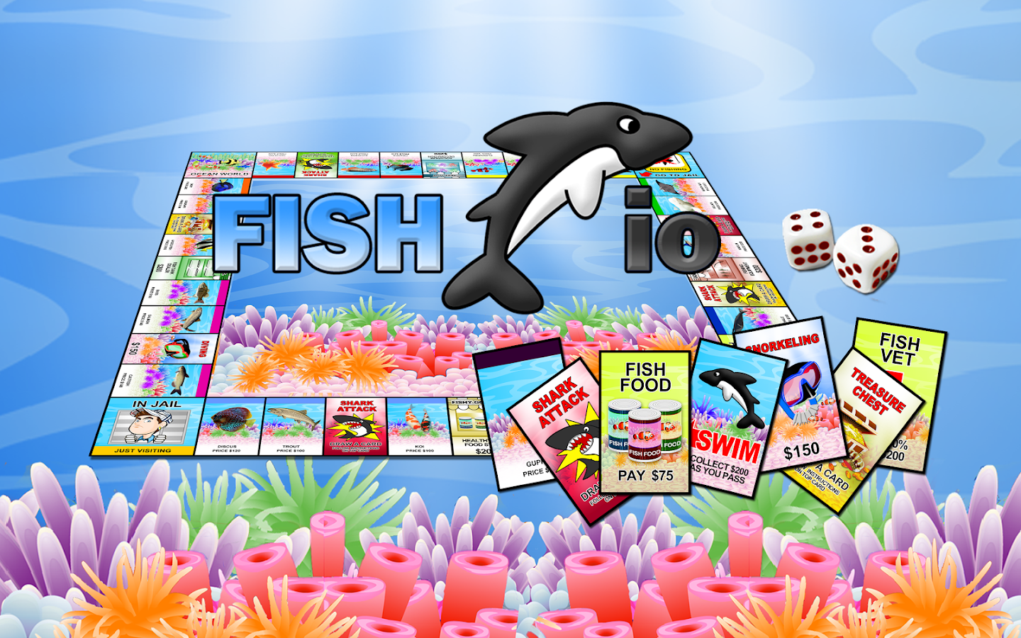 Fish io android apps on google play for Fish io games