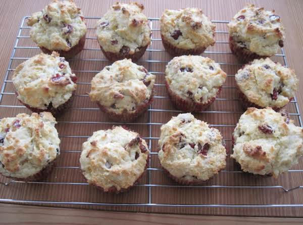 Christmas Cranberry Muffins Recipe