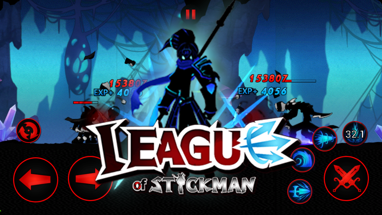 League of Stickman Free-Shadow- screenshot