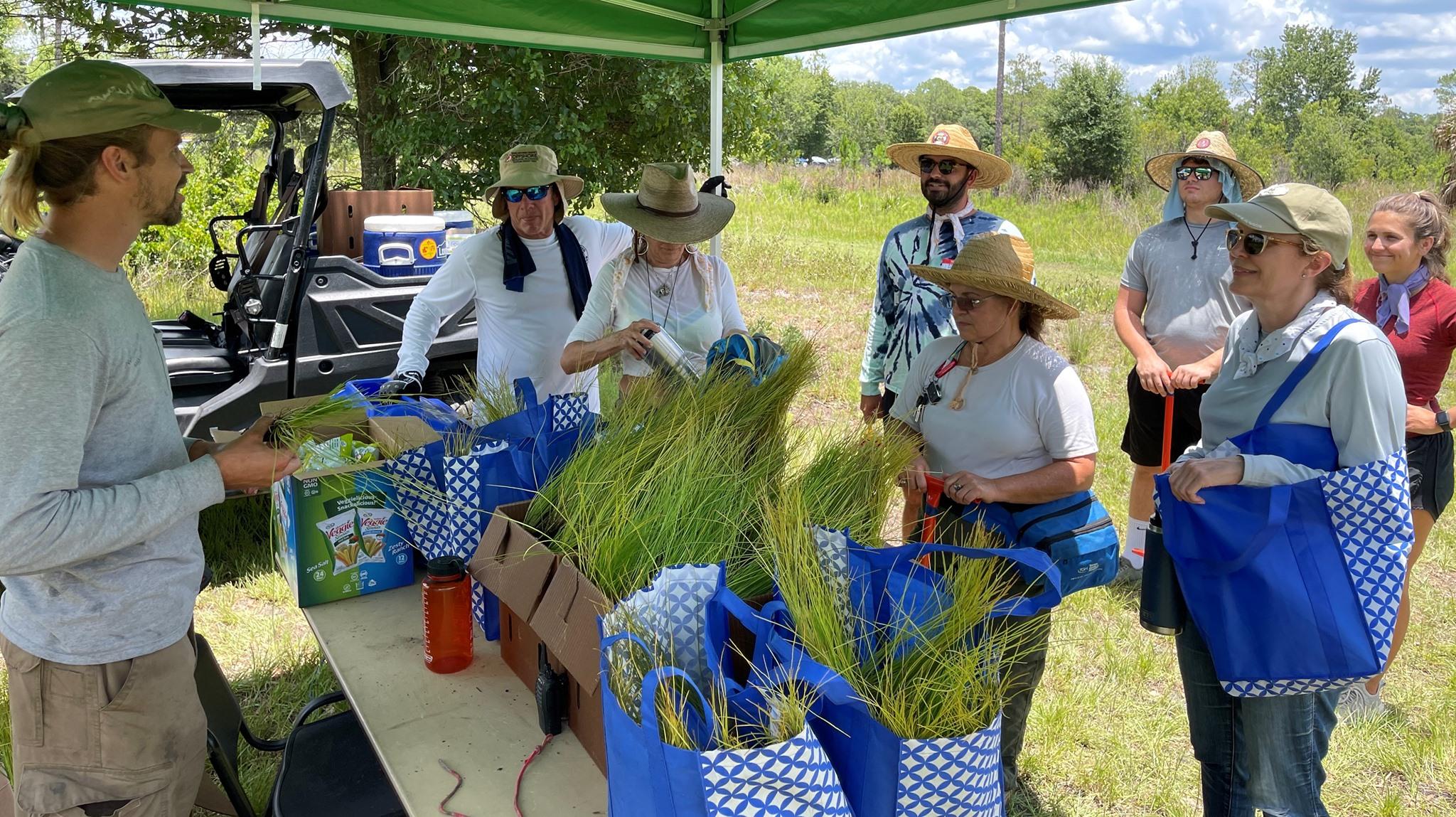 A Sustany Foundation outdoor program activity