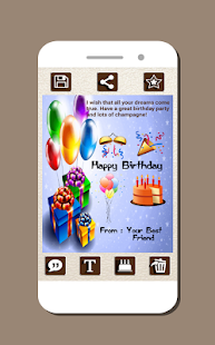 Birthday card maker apps on google play screenshot image bookmarktalkfo Gallery
