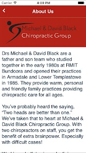 Michael & David Black Chiro- screenshot thumbnail
