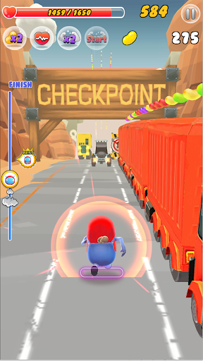 ZellyGo Dash - running game filehippodl screenshot 4