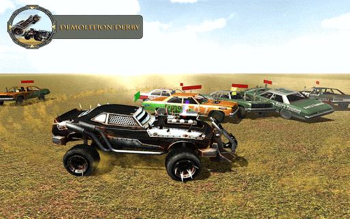 Monster Car Derby Fight 2k16 1.0 screenshots 9