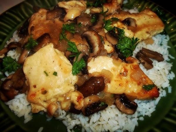 Gram Elva's Chicken Marsala Recipe