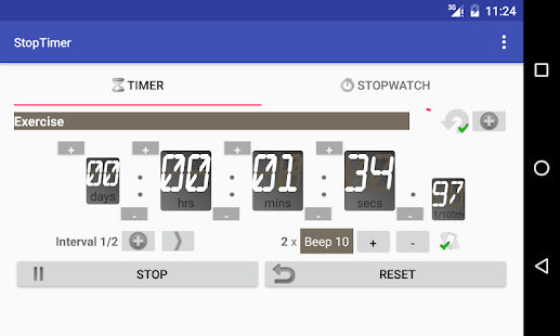 StopTimer - Stopwatch & Timer- screenshot thumbnail