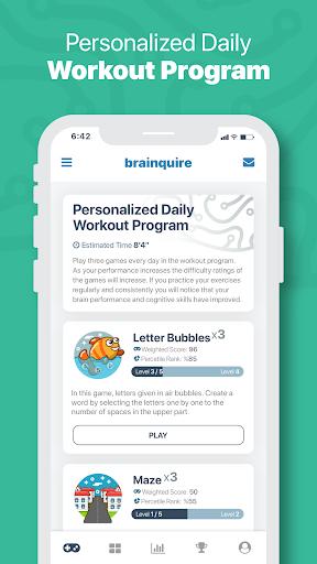 Brainquire 1.21 screenshots 3
