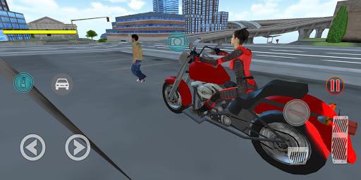 Flying Girl Rope Hero Spider Swing Game 1.3 screenshots 2