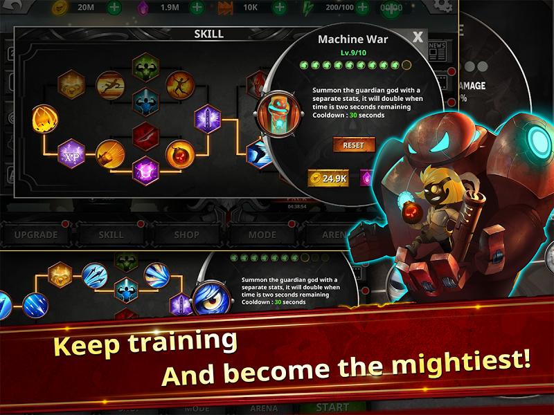 Stickman Legends - Ninja Warriors: Shadow War Screenshot 4