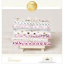 Heidi Swapp Paper Pad 12X12 12/Sheets - Minc 5th Avenue