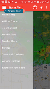Storm Alert Lightning & Radar screenshot 18