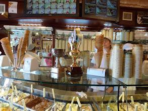 Photo: Back to Gelato Champion shop for deserts