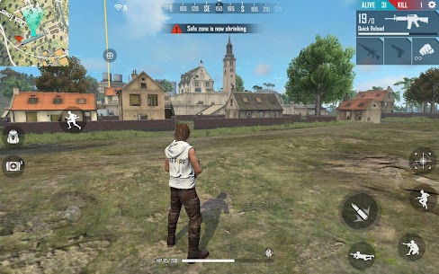 Garena Free Fire MOD Apk (Unlimited Diamond, Health) for Android 6