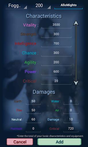 Calculator Dofus Touch  screenshots 2
