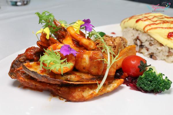 台南美食|WiWe威葳義法餐廳:精緻義法料理,挑起你最深處的味蕾|台南義大利麵|台南燉飯|台南火鍋|台南歐姆