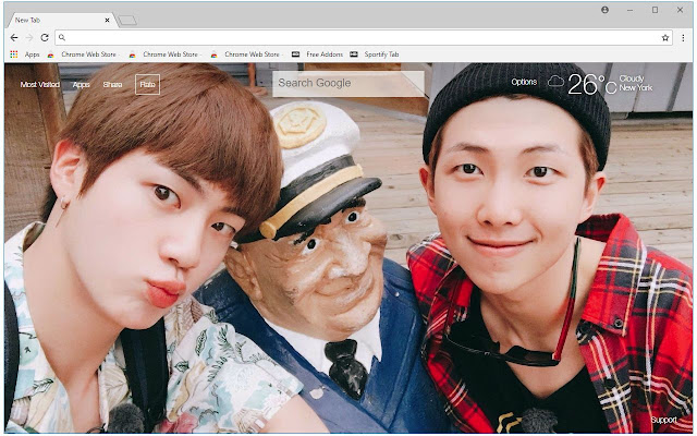Rm Jin Bts Hd Wallpapers Namjin New Tab Hd Wallpapers Backgrounds