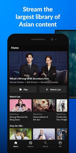 Viki: Korean Dramas, Movies & Chinese Dramas 5.8.1 screenshots 1