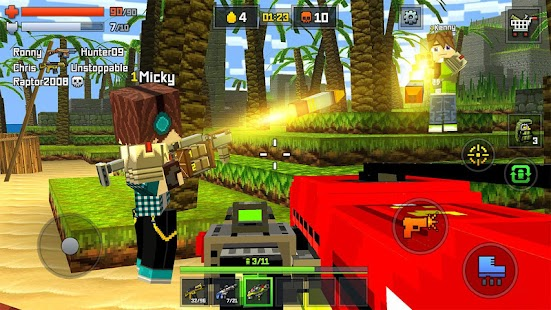 Pixelmon shooting – online go- screenshot thumbnail