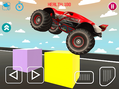 Obstacle Ramps & Monster Truck Driving for PC-Windows 7,8,10 and Mac apk screenshot 1