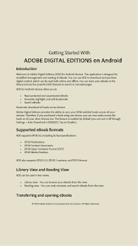 Adobe Digital Editions APK screenshot thumbnail 2