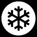 Hanya salju - foto efekte
