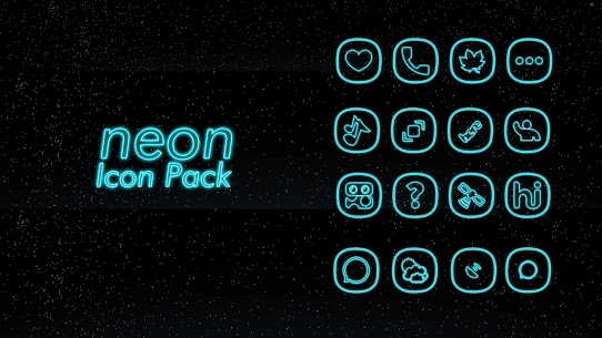 Neon icon pack v1beta icon pack [Patched] APK 4