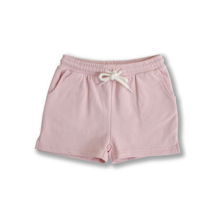 Hazel - Pink sweat shorts for children