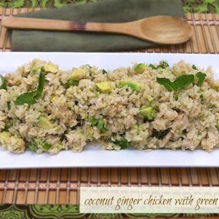 Coconut Ginger Chicken & Green Jasmine Rice