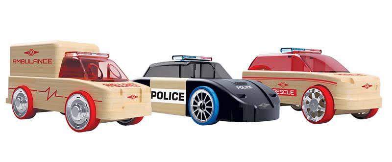 Contenido de Automoblox® T900 Pack Rescate