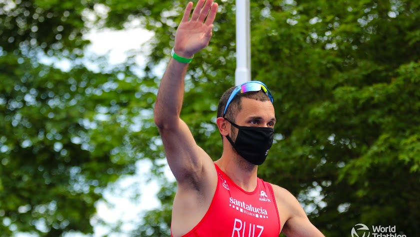 Jairo Ruiz se está preparando para la cita olímpica en Tokio.