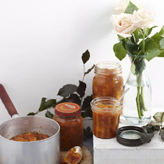 Peach and Ginger Chutney