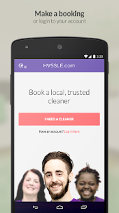 Hassle IE - Book a cleaner- screenshot thumbnail