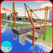 جسر باني إنشاءات محاكاة 3D