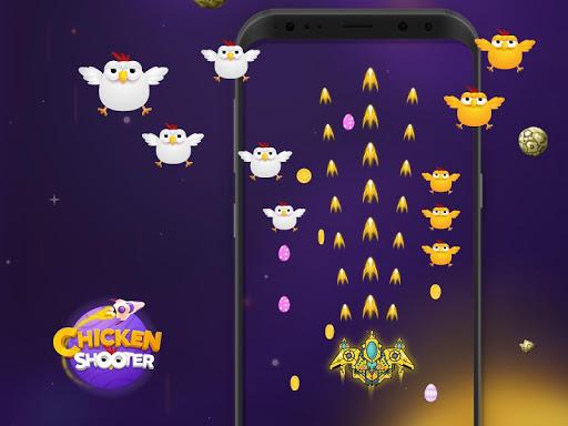 Chicken shooter - Galaxy War  astuce 1