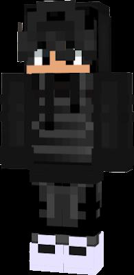 me in black armor