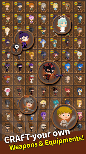 Job Hunt Heroes : Idle RPG 6.1.1 screenshots 7