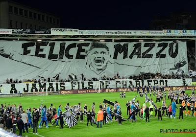 Charleroi is 'hun' coach niet vergeten: schitterend eerbetoon