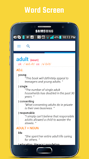 English Collocation Dictionary- screenshot thumbnail