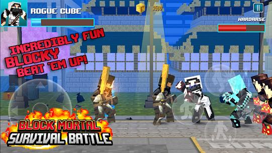 Block Mortal Survival Battle 3
