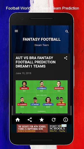 FANTASY 11- DREAM TEAM football Cricket Prediction 8.0 screenshots 2