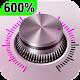 600 sup max loud volum( super high volume boost) icon