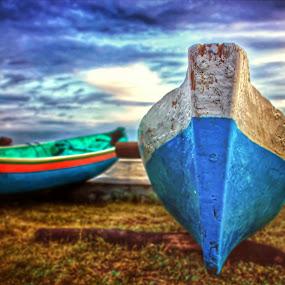 my boats  by Hendra De Strijders - Transportation Boats